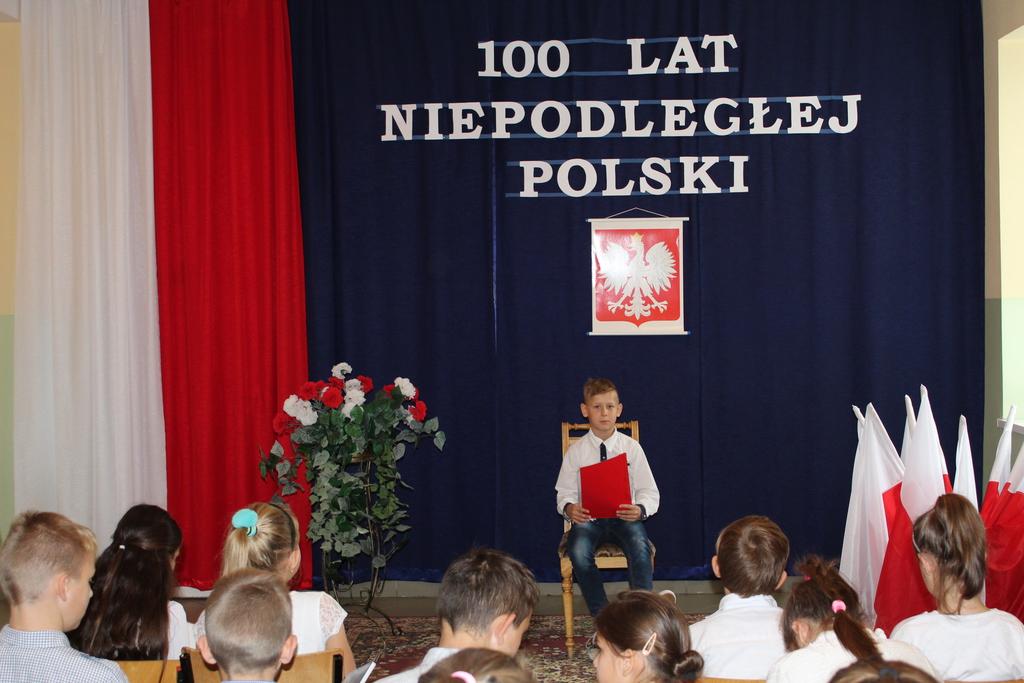 Wiersze Dla Niepodległej Publiczna Szkoła Podstawowa Im