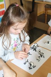 Galeria Kreatywni na 101 - projekt dla uczniów klas I - III