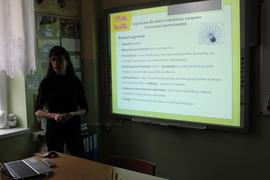 Galeria Bezpieczeństwo w sieci- wykład dla uczniów klasy 7 i 8