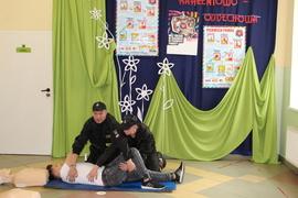 Galeria Rekord w resuscytacji oddechowo - krążeniowej zdobyty w dniu 16.10.2019 r.