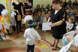 Galeria Pasowanie na Przedszkolaka Smerfa