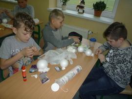 Galeria Uczniowie klas V - VII przygotowania do kiermaszu