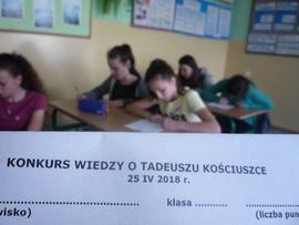 Galeria Konkurs Wiedzy o Tadeuszu Kościuszce