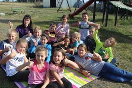 Galeria Klasa IV na pikniku w Bugaju