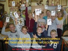 Galeria 100 kartek dla Powstańców na 100 - lecie Niepodległości